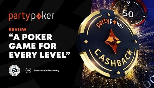 Betting on the partypoker site